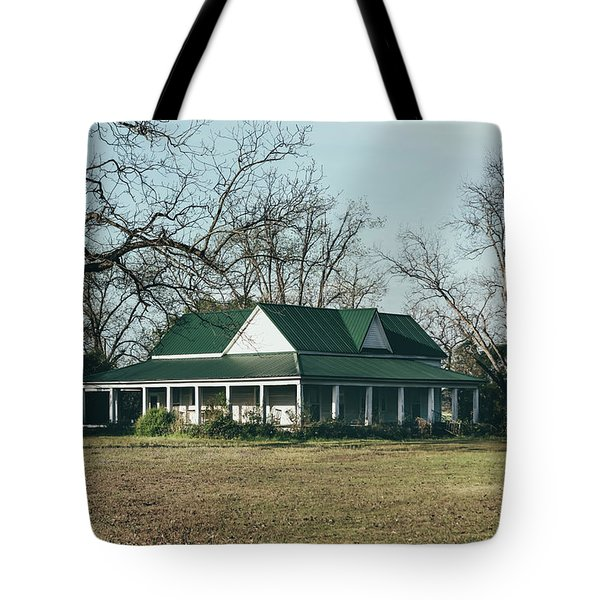 Tote Bag featuring the photograph Little House On The Prairie by Kim Hojnacki