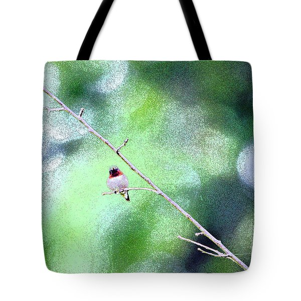 Little Hummer Tote Bag