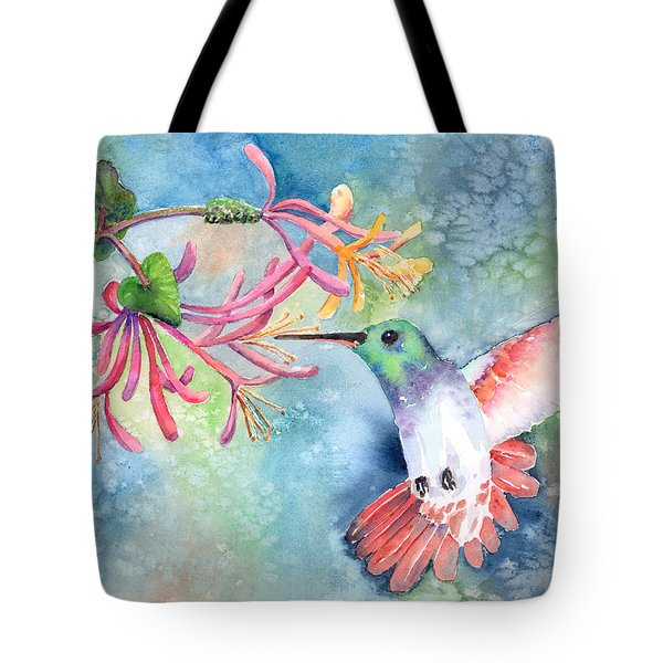 Little Hummingbird Tote Bag