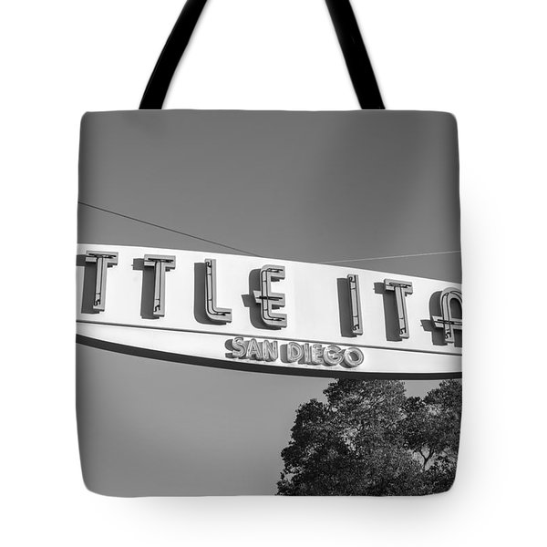 Little Italy Monochrome Tote Bag