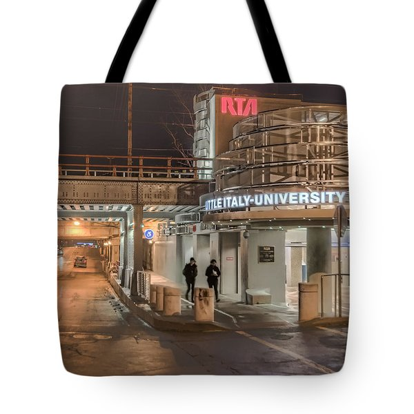 Little Italy Rta Tote Bag by Brent Durken