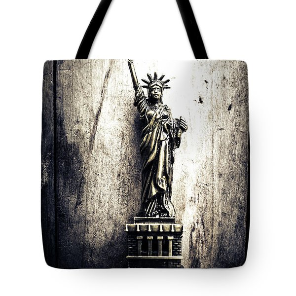 Little Lady Of Vintage Usa Tote Bag