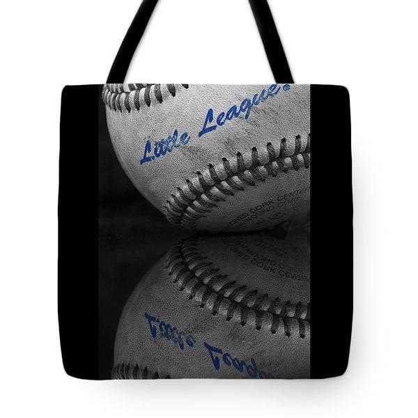 Little League Baseball Tote Bag