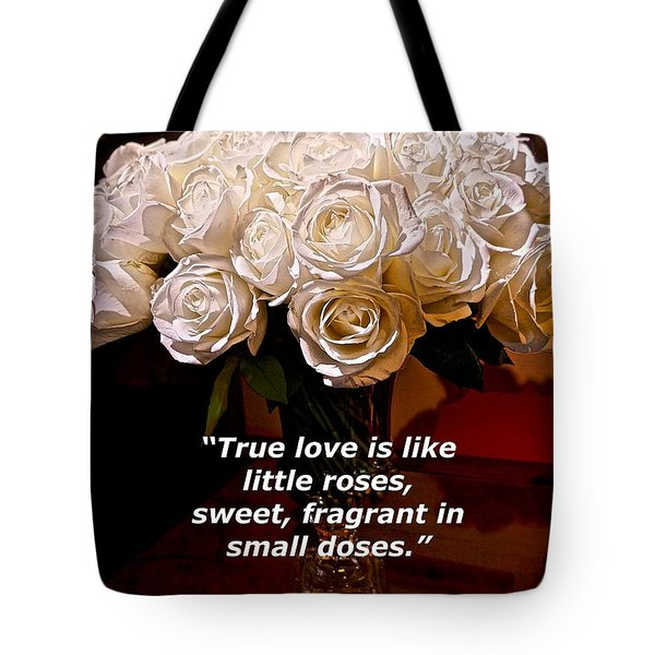 Little Love Roses Tote Bag