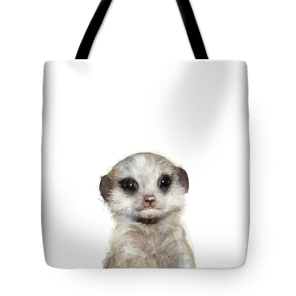Little Meerkat Tote Bag