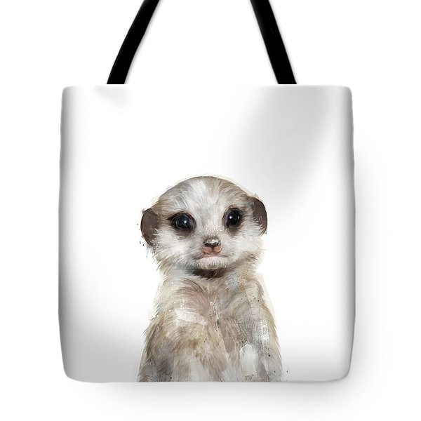 Little Meerkat Tote Bag by Amy Hamilton