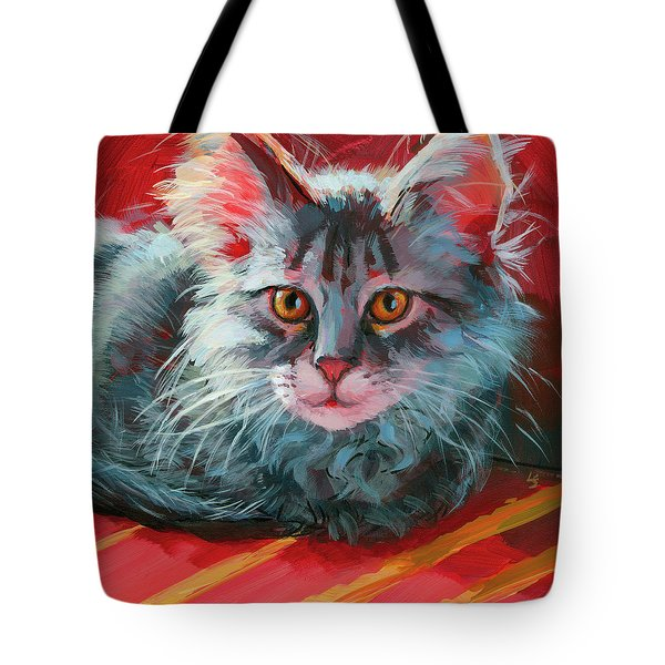 Little Meow Meow Tote Bag
