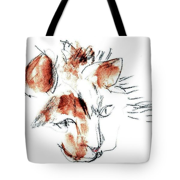 Little Merph - Cats Tote Bag by Carolyn Weltman