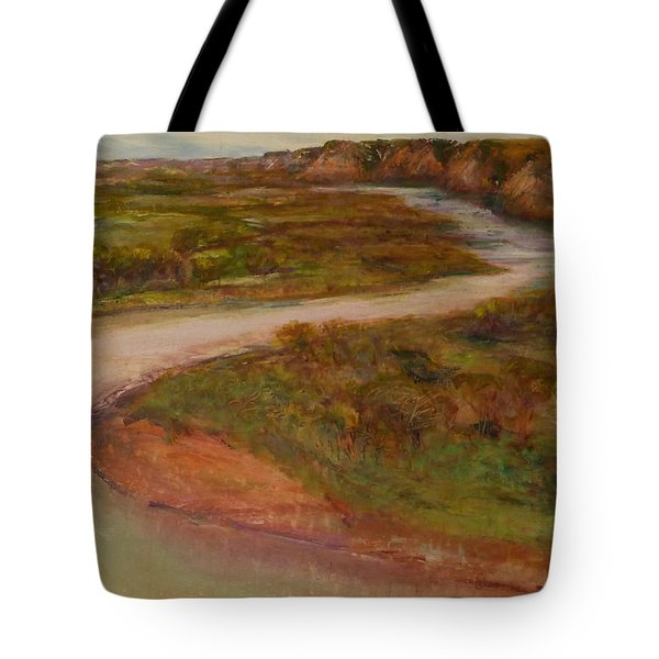 Little Missouri Overlook  Tote Bag by Helen Campbell