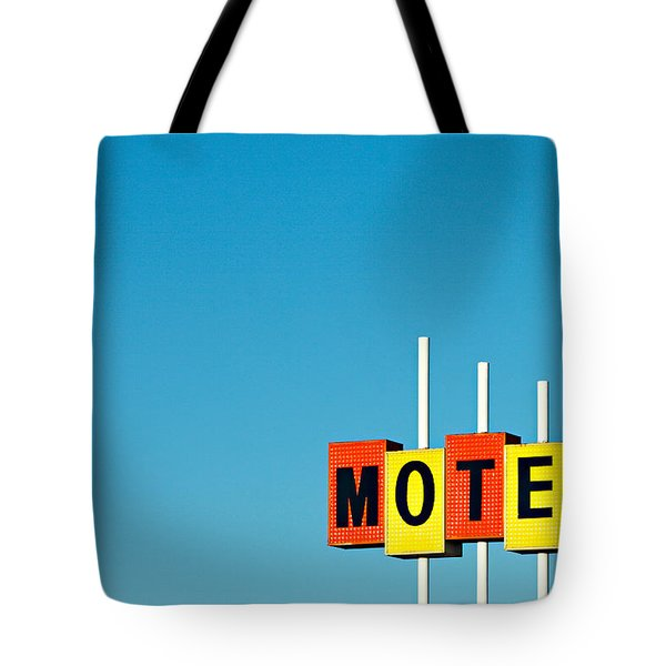 Little Motel Sign Tote Bag