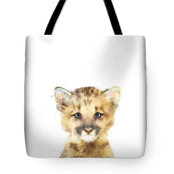 Little Mountain Lion Tote Bag