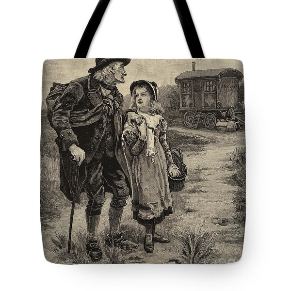 Little Nell And Her Grandfather  Tote Bag