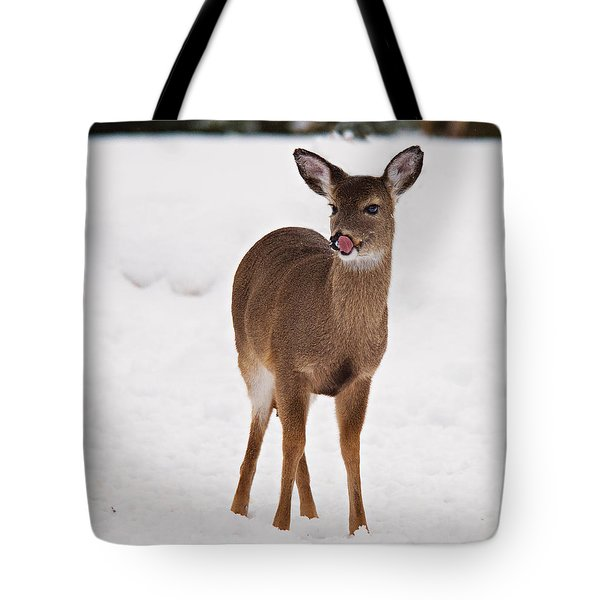 Tote Bag featuring the photograph Little One by Angel Cher