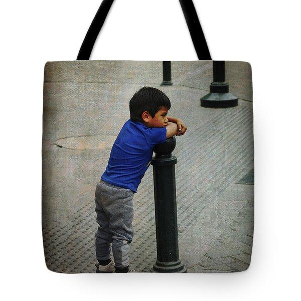 Little Peruvian Boy Tote Bag