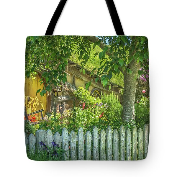 Little Picket Fence Tote Bag