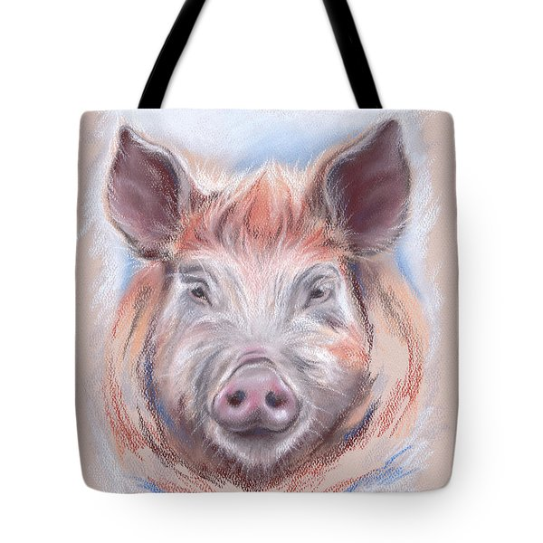 Little Pig Tote Bag by MM Anderson