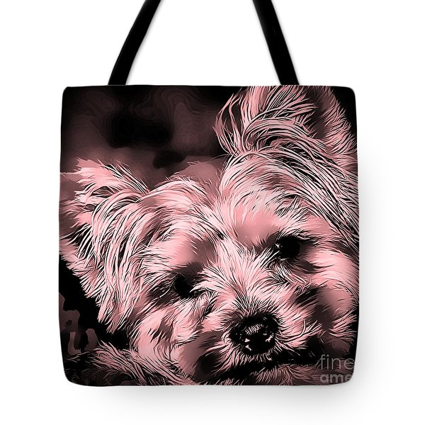 Little Powder Puff Tote Bag