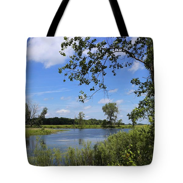 Little Prairie Oasis Tote Bag