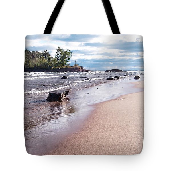 Little Presque Isle Tote Bag by Phil Perkins