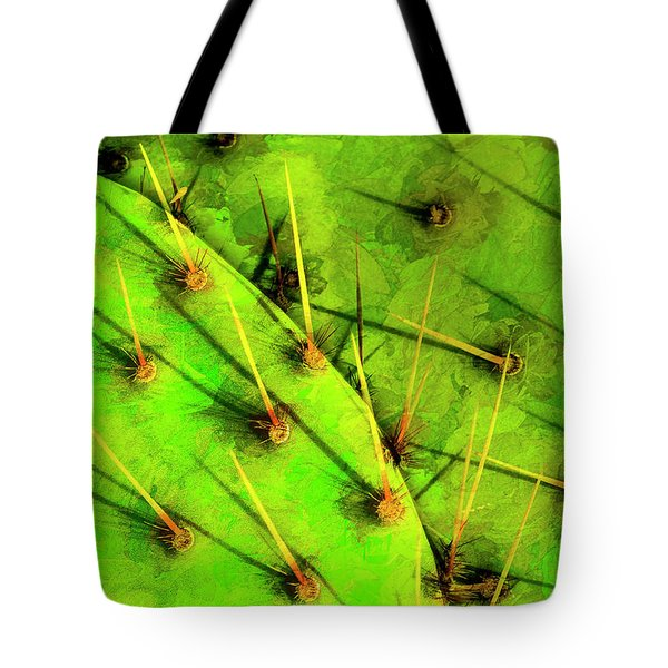 Tote Bag featuring the photograph Prickly Pear by Paul Wear