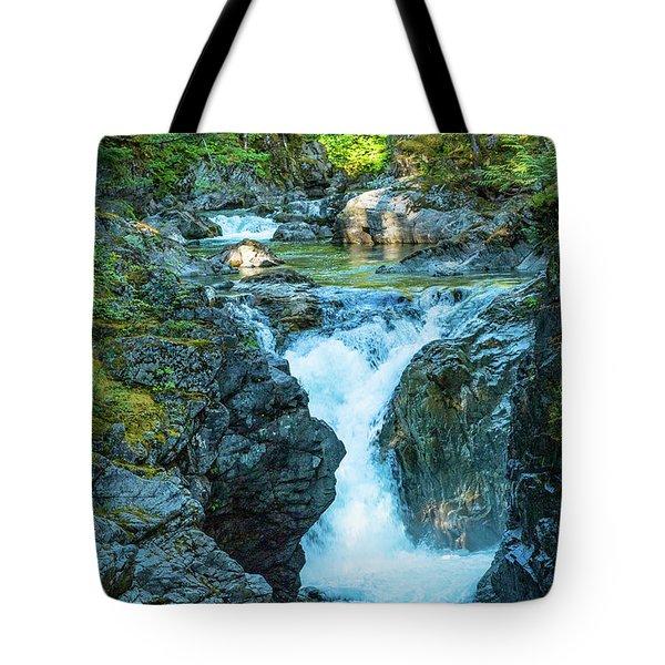 Little Qualicom Falls Tote Bag