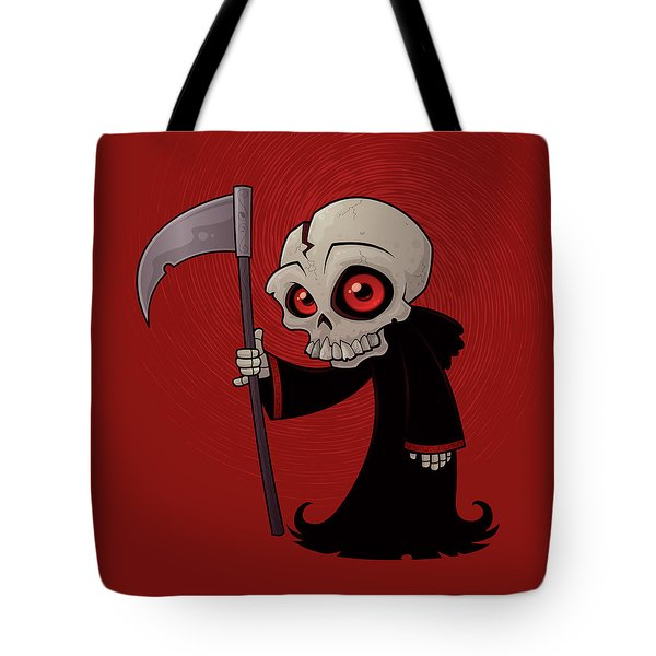 Little Reaper Tote Bag by John Schwegel