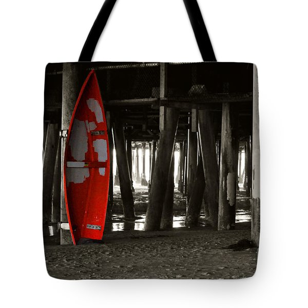 Little Red Boat IIi Tote Bag