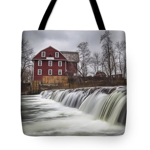 Little Red Mill Tote Bag