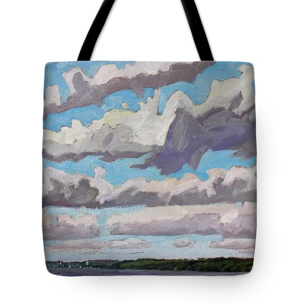 Little Rideau Virga Tote Bag by Phil Chadwick