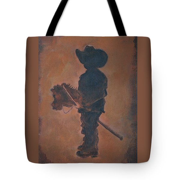 Little Rider Tote Bag