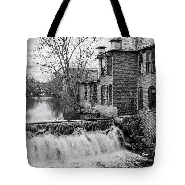 Little River Dam Tote Bag
