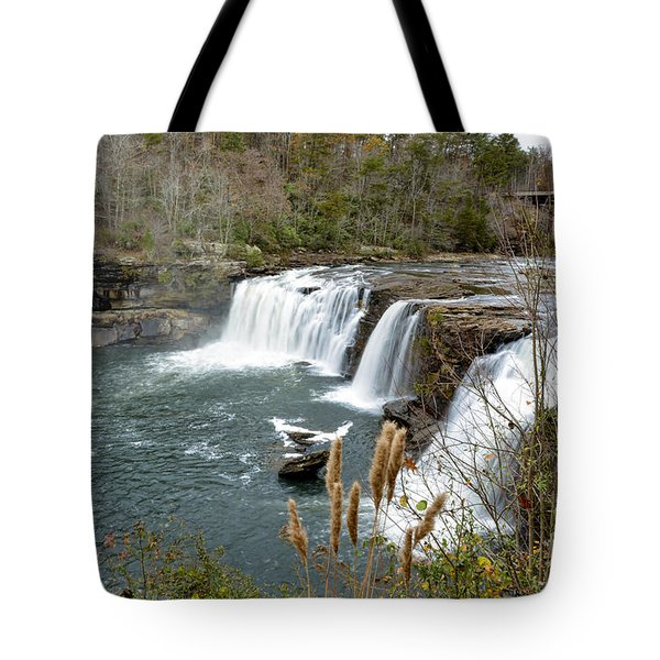 Little River Falls Tote Bag