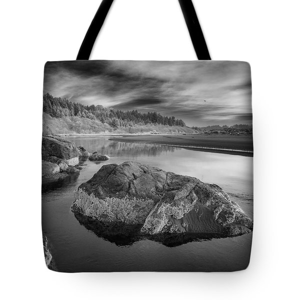 Little River In Infrared 1 Tote Bag