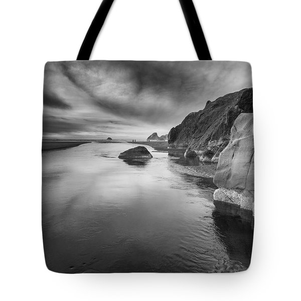 Little River In Infrared 2 Tote Bag