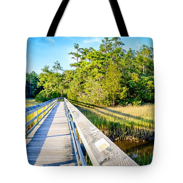 Little River Marsh Tote Bag