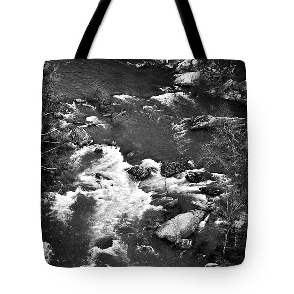Little River Rapids Tote Bag