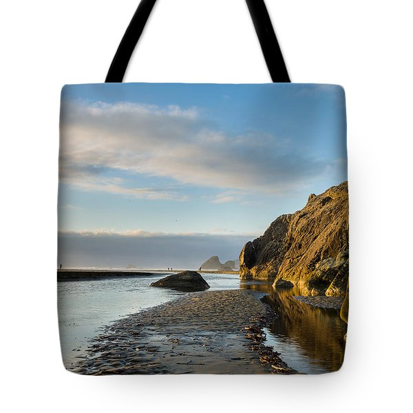 Little River To The Sea Tote Bag