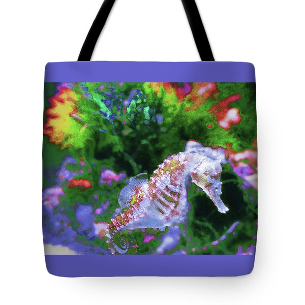 Little Sea Horse Tote Bag