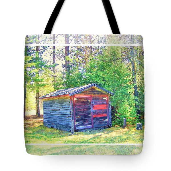 Little Shed Tote Bag