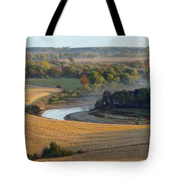 Little Sioux Autumn Sunrise Tote Bag