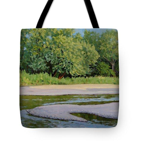 Little Sioux Sandbar Tote Bag