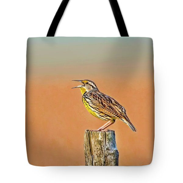 Little Songbird Tote Bag