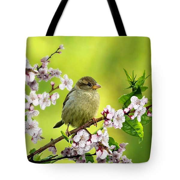 Little Sparrow Tote Bag