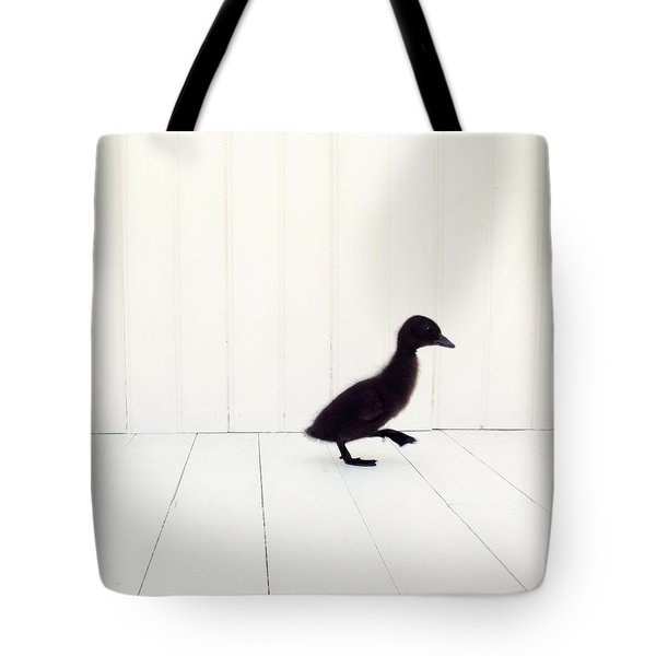 Tote Bag featuring the photograph Little - Square Version by Amy Tyler