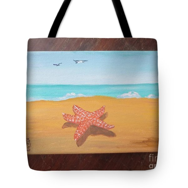 Little Star Fish Tote Bag