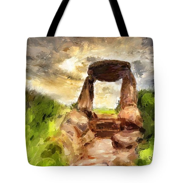 Little Stonehenge Tote Bag