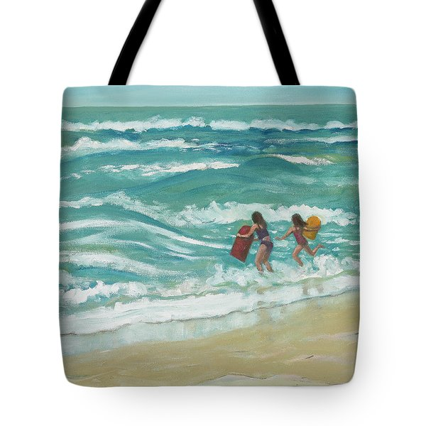 Little Surfers Tote Bag