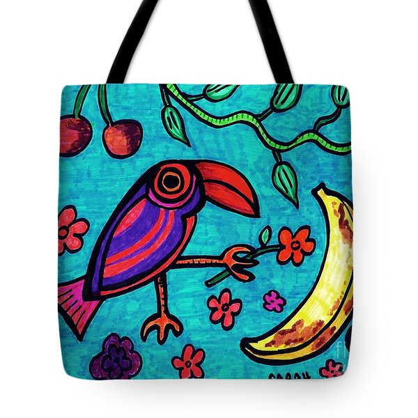 Little Toucan Tote Bag by Sarah Loft