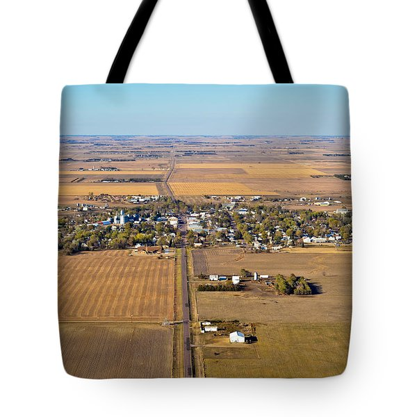 Little Town On The Prairie Tote Bag