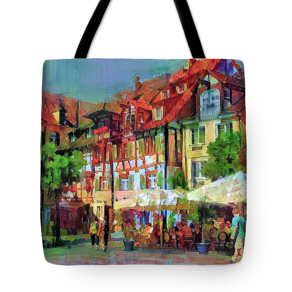 Little Town Tote Bag